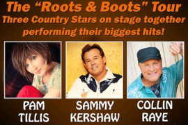 Roots and Boots Tour starring Pam Tillis, Sammy Kershaw and Collin Raye, Branson MO Shows (0)