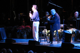 Johnny Mathis with Gary Mule Deer, Branson MO Shows (2)