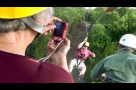Branson Zipline at Wolfe Mtn Video