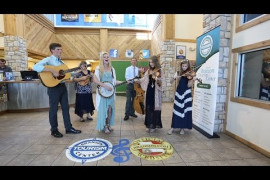 Bluegrass & Gospel with the Petersens Video
