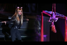 A Janice Martin Cirque Show Video