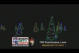 Lights of Joy Christmas Drive-Thru Video