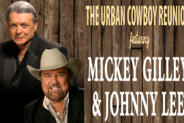 Mickey Gilley & Johnny Lee - Urban Cowboys Ride Again!, Branson MO Shows (1)