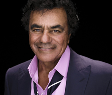 Johnny Mathis with Gary Mule Deer