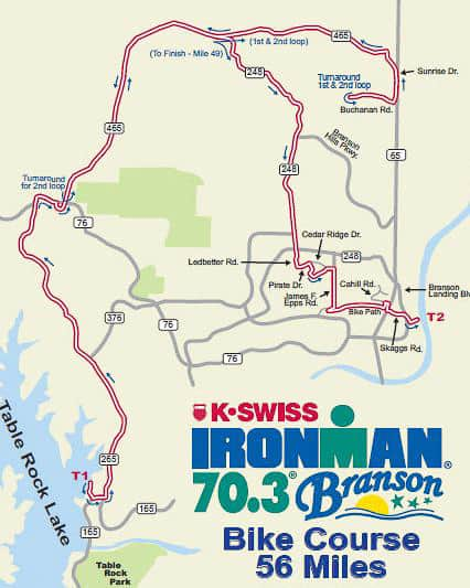 Branson Ironman Closes Ozark Mountain High Road For 8 Hours