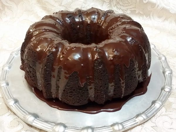 Bundt Pudding Cake Chocolate