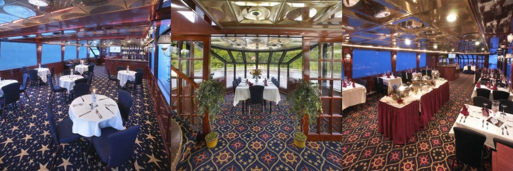 Elegant Dining aboard the Landing Princess Yacht