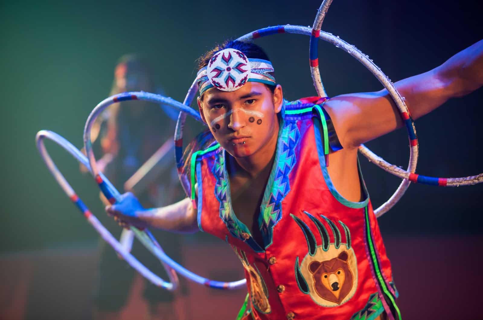 how to indian hoop dance