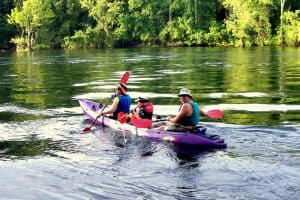 Kayaking in Branson Missouri