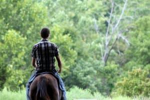 Horseback riding in Branson Missouri