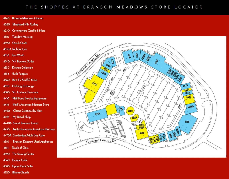 Branson Shopping Options Branson Mo