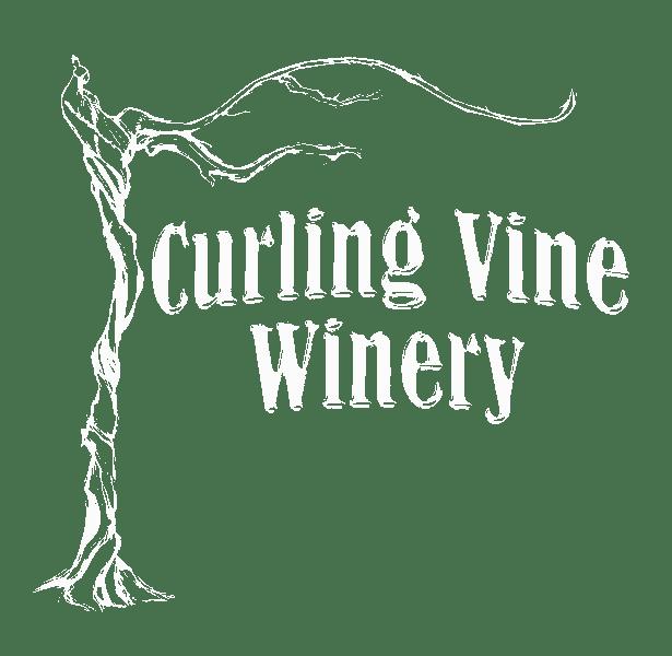 Curling Vine Winery Logo