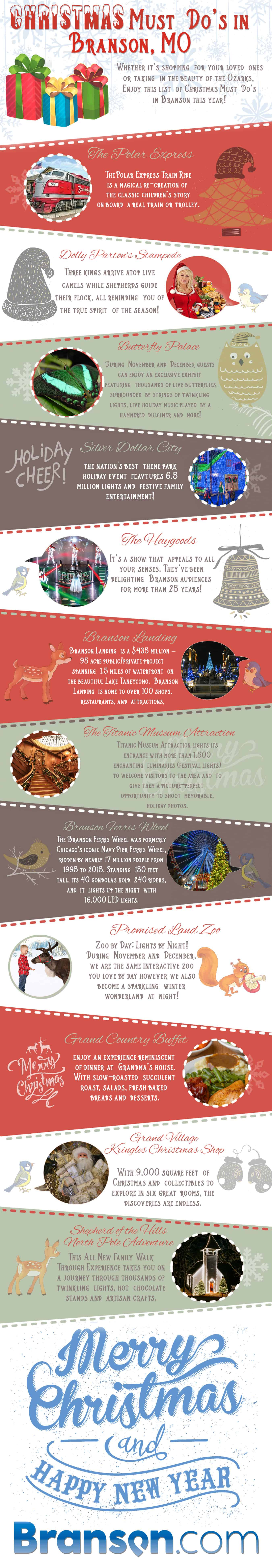 Christmas Must Do's in Branson, MO