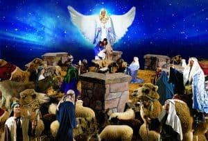 The beautiful living nativity!