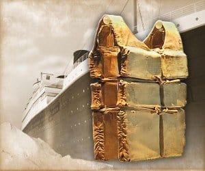 Lifejacket from Titanic!