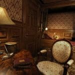 The luxurious First-Class Cabin!