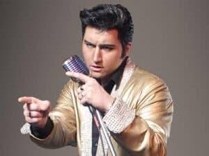 Dean Z as Elvis Presley