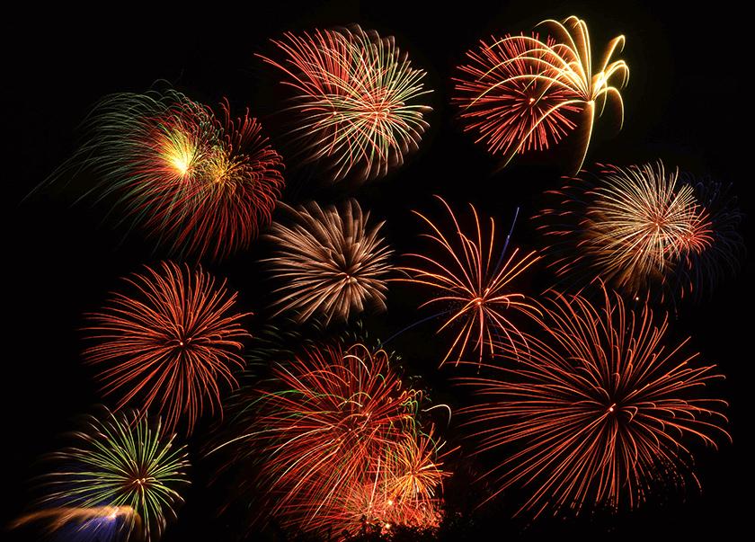 Fireworks Celebration in Branson