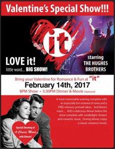 Hughes Music Show Celebrates Valentine's Day