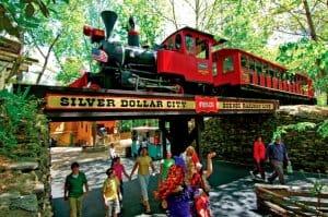 Silver Dollar City's Frisco Scenic Railway