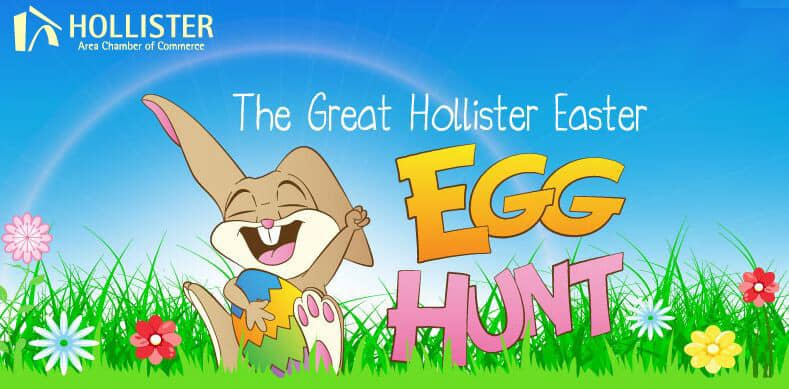 The Great Hollister Easter Egg Hunt