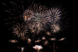 New Year's Eve fireworks in Branson