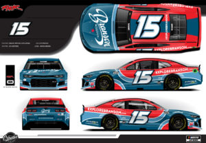 Designs of NASCAR Joey Gase Racing Branson Missouri Wrap