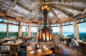 Osage Rotunda Room at Top of the Rock Branson