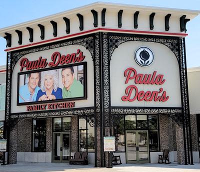 Paula Deen's at the Branson Landing